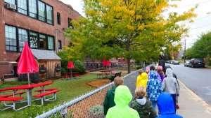 Holton Street Garden at German International School Boston
